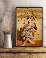 dragonfly girl text pt lqt NTH 11x17 Poster lifestyle-poster-3