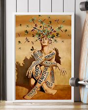 dragonfly girl text pt lqt NTH 11x17 Poster lifestyle-poster-4