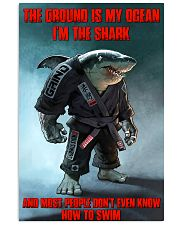 shark jiu jitsu pt lqt ntv 24x36 Poster front