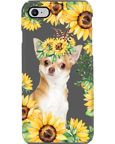 chihuahua-sunflower-case