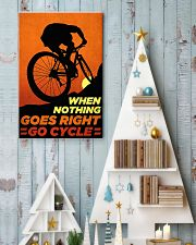 Go Cycle nothing go right 11x17 Poster lifestyle-holiday-poster-2