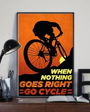 Go Cycle nothing go right 11x17 Poster lifestyle-poster-2