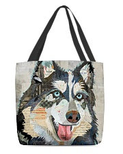 husky collage tote All-over Tote front