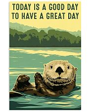 otter good day 11x17 Poster front