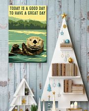 otter good day 11x17 Poster lifestyle-holiday-poster-2