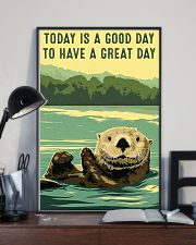 otter good day 11x17 Poster lifestyle-poster-2