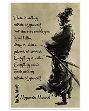 OUTSIDE OF YOURSELF SAMURAI POSTER 16x24 Poster front