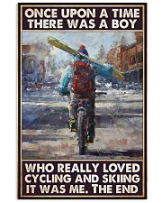 boy love cycling skiing once upon pt phq pml 11x17 Poster front