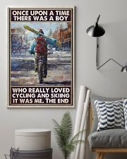 boy love cycling skiing once upon pt phq pml 11x17 Poster lifestyle-poster-1