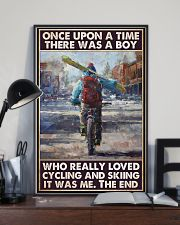 boy love cycling skiing once upon pt phq pml 11x17 Poster lifestyle-poster-2