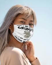 grumpy cat not talk to myshelf mas Cloth Face Mask - 3 Pack aos-face-mask-lifestyle-19