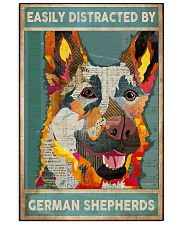 german shepherd collage 11x17 Poster front