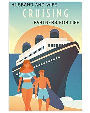 cruising partner for life poster 11x17 Poster front
