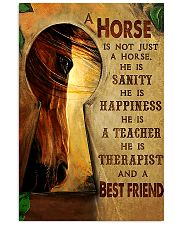 Horse Girl A horse is a best friend 16x24 Poster front