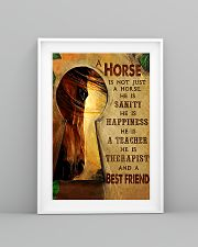 Horse Girl A horse is a best friend 16x24 Poster lifestyle-poster-5