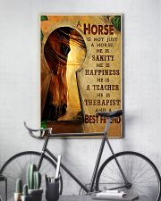 Horse Girl A horse is a best friend 16x24 Poster lifestyle-poster-7