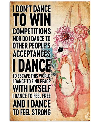 don't dance to win