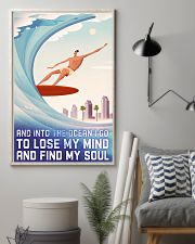 surfing retro lose my mind poster 11x17 Poster lifestyle-poster-1