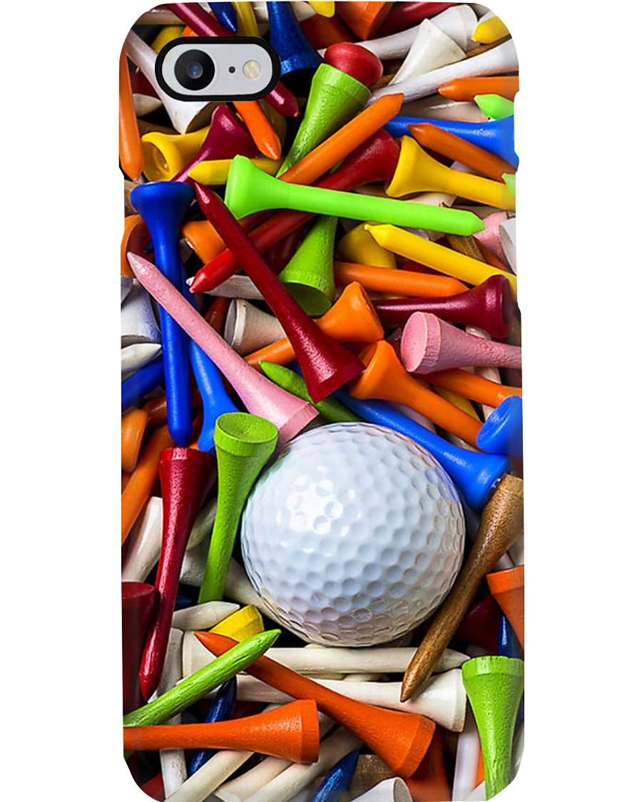 golf ball and tees Phone Case