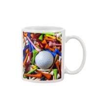 golf ball and tees Mug thumbnail