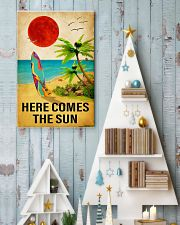surfing here comes the sun 11x17 Poster lifestyle-holiday-poster-2