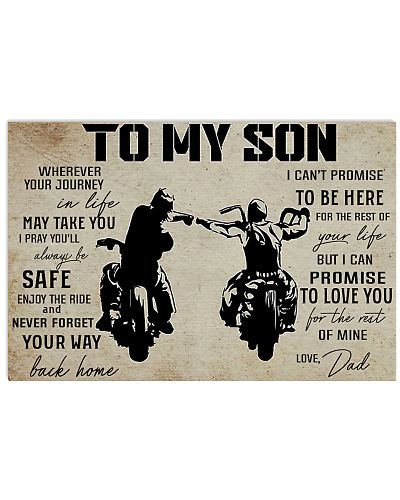 poster to son biker