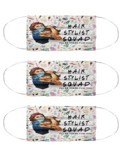 hair stylist squad mas Cloth Face Mask - 3 Pack front