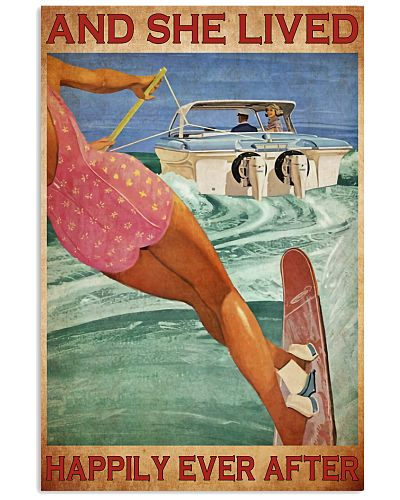 water skiing she lived happily ever after