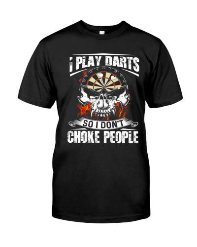 play darts so dont choke