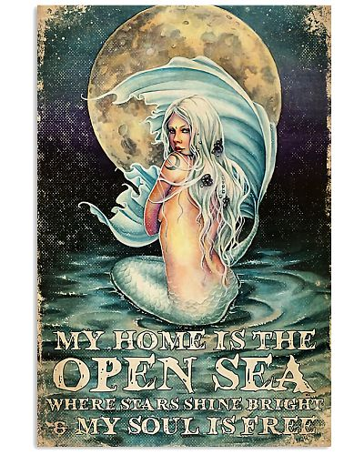 mermaid My Home Is The Open Sea