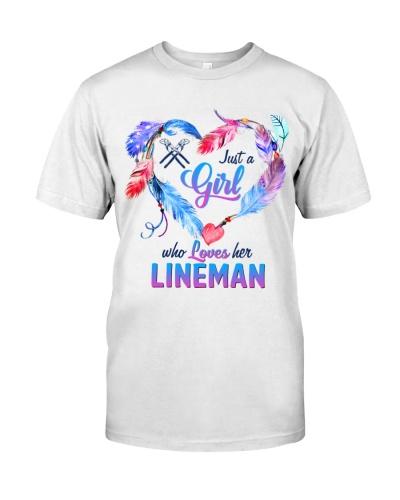 girl love her Lineman
