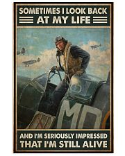pilot royls airfrc look back impressed pt phq NTH 11x17 Poster front