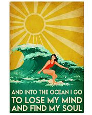 surfing girl find my soul 11x17 Poster front