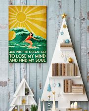 surfing girl find my soul 11x17 Poster lifestyle-holiday-poster-2