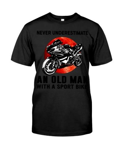 never underestimate old man sport bike