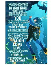 scuba diving today pt hvhh2 nna 16x24 Poster front