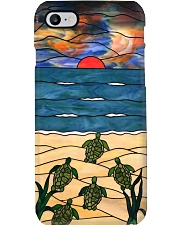 Sea Turtle god stained glass case dvhh pml Phone Case i-phone-8-case