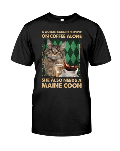 Maine Coon Cat Coffee Servive