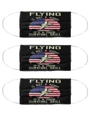 pilot skill 2020 Cloth Face Mask - 3 Pack front