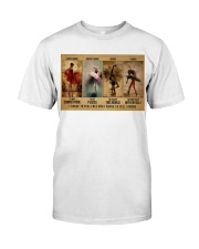 ballet dance to feel pt lqt-DVH Classic T-Shirt thumbnail