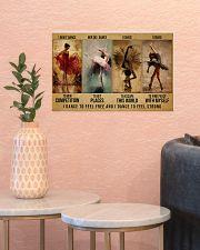 ballet dance to feel pt lqt-DVH 17x11 Poster poster-landscape-17x11-lifestyle-21