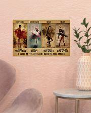 ballet dance to feel pt lqt-DVH 17x11 Poster poster-landscape-17x11-lifestyle-22