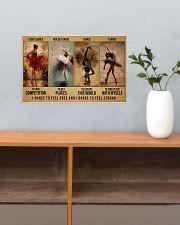 ballet dance to feel pt lqt-DVH 17x11 Poster poster-landscape-17x11-lifestyle-24