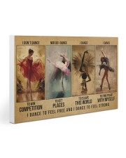 ballet dance to feel pt lqt-DVH 30x20 Gallery Wrapped Canvas Prints thumbnail