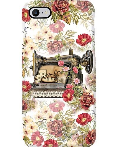 sewing phonecase vintage