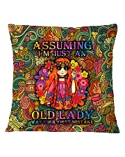 pillow-hippie-old-2 Square Pillowcase front