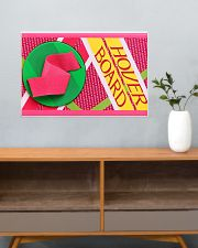 Tny Hwk Skateboard pc mttn ngt 24x16 Poster poster-landscape-24x16-lifestyle-25