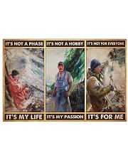 fisherman its not a phase pt mttn PML 17x11 Poster front