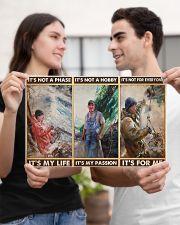 fisherman its not a phase pt mttn PML 17x11 Poster poster-landscape-17x11-lifestyle-20