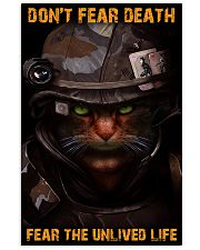Soldier-cat don't fear pt ttb-nna 11x17 Poster front